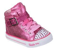 Skechers Kids Twinkle Toes Heart And Sole Light Up Sneaker Twinkle Toes Shuffles Heart N Sole