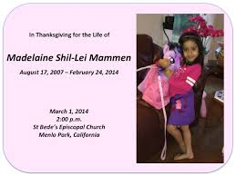 Memorial Service Booklet – March 1st, 2014 | Laine Mammen: A Beautiful Life