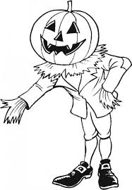 Small Picture Scarecrow in pumpkin patch coloring pages Hellokidscom