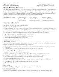 Sample Hotel General Manager Resume Hotel Manager Resume Template