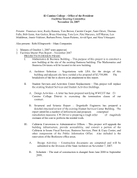 Building Design Fee Proposal Letter El Camino College Office Of The President Facilities