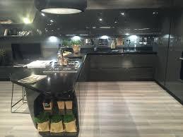 black kitchen lighting. Full Black Kitchen Design For A Masculine Bachelor Loft With Led Under Cabinet Lighting