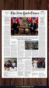 Fake Newspaper Template Word Editable New York Times Newspaper Template