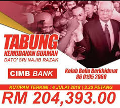 Image result for tabung free najib