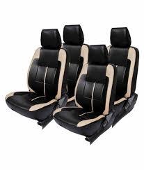 elaxa black leather seat cover for hyundai i20