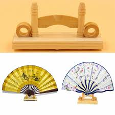 Japanese Fan Display Stand 100cm Chinese Japanese Foldable Fan Display Holder Base Stand Knot 23