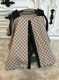 car seat canopy gucci inspired custom car seat canopy gg infant car seat cover