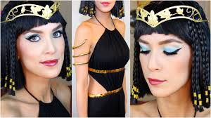 cleopatra halloween costume makeup tutorial