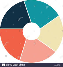 Vector Graphs And Charts Vector Circle Infographic Template For Graphs Charts