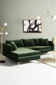 green room furniture. Edlyn Petite Two-Piece Chaise Sectional Green Room Furniture