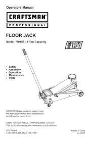 floor jack sears