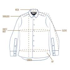 Standard Fit Size Chart Sizing Chart Info Here Commonwealth Mfg