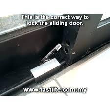 sliding door stopper sliding glass door stopper sliding door stops photo com handle idea sliding glass sliding door stopper