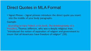 Mla Long Quote 100 Mla Format Long Quotations Format 100 Block
