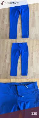 Nike Capri Size Small Royal Blue