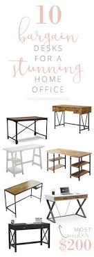 office chairs affordable home. Delighful Home 10 Bargain Desk Ideas For A Stunning Home Office Affordable Office  FurnitureSmall  To Chairs A