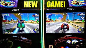 new release car gamesCruisn Blast Arcade Game Brand New 2017 Gaming Release  Side By