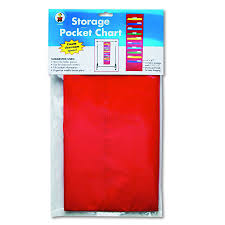 Carson Dellosa Publishing Pocket Chart Storage 10 Pocket Each Model Cd 5653