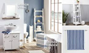 Dunelm Bathroom Accessories Nautical Accessories Collection Dunelm