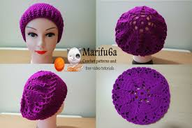 Crochet Beret Pattern Classy How To Crochet Hearts Beret Hat Free Pattern Tutorial YouTube