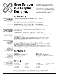 self employed resume samples The Awesome Self Employed Resume Template