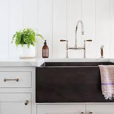 black fireclay a sink