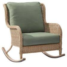 outdoor wicker rocking chairs discount. lemon grove wicker outdoor rocking chair with surplus cushions chairs discount t