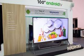 tv 100 inch. android tv: go big or home with this 100-inch tv | androidheadlines.com tv 100 inch e