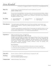 Call Center Resume Examples Simple Customer Service Resume Examples Call Center Representative Template