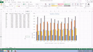 Youtube Gantt Chart Excel 2013 How To Add A Axis Title To An Existing Chart In Excel 2013