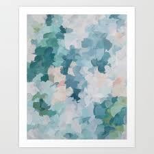 mint green sky blue teal blush pink