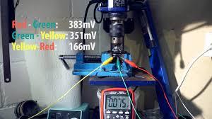 brushless motor testing without lc meter