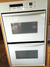 double oven convection biscuit kitchenaid superba door hinge problems