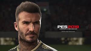 дэвид бекхэм в Pro Evolution Soccer 2019