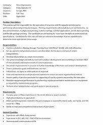 Inspirational Brake Operator Sample Resume Resume Sample