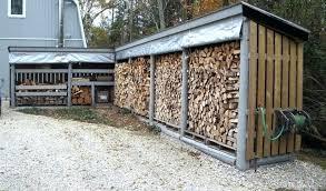 firewood storage ideas bunnings