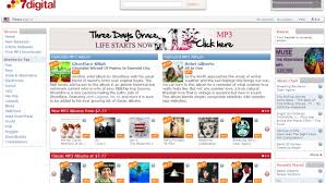 Amazon Music Charts Albums 7digital Takes Aim At Itunes Amazon With Drm Free U S