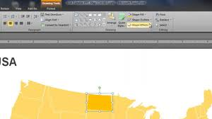 Editable Map Of Usa For Powerpoint Powerpoint Map Of Usa How To Change The State Colors Youtube