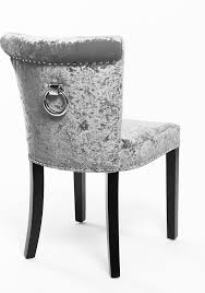 velvet dining room chairs. Black Velvet Dining Room Chairs Beautiful Sandringham Crushed Chair In Silver