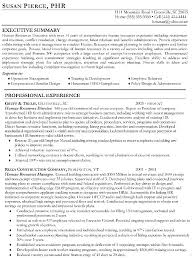 Executive Resume Writers Sample Page 1 Service Nyc