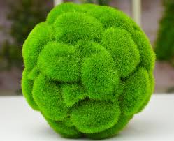 Green Grass Decorative Balls