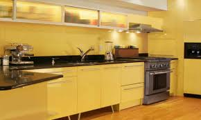 Yellow And Brown Kitchen Similiar Yellow Kitchen Walls Keywords