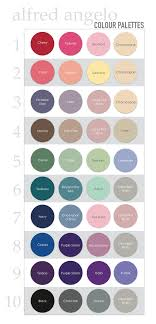 Alfred Angelo Colour Chart Alfred Angelo Colour Color Palettes For Wedding