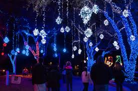 the festival of lights is a mile long illuminated winter wonderland moody gardens