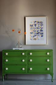 bright painted furniture. green dresser white knobs bright painted furniture