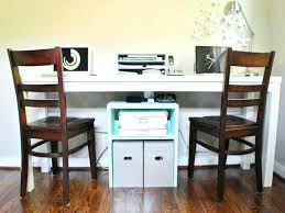 home office desks for two. Home Office Furniture For Two People Marvelous Desks 5 Attractive Ideas