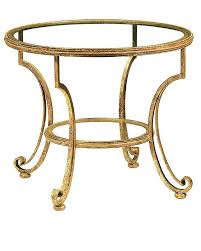 round glass accent table with top in stylish canada