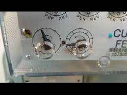 Natural Gas Clocking Chart Hvac Lession Clock The Gas Meter For Flow