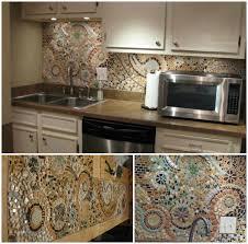 5 diy kitchen backsplashes diy mosaic kitchen backsplashes