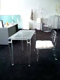 Acrylic office chairs Desk Acrylic Office Chair Clear Desk Mat Swivel With Cush Office Furniture Ideas Medium Size Amusing Clear Desk Chair Inspirational Acrylic Home Design Planner Acrylic Office Chair Desk Uk With Steel Base Creative Design
